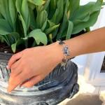 Bracelet, Abalone Butterflies